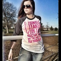 SINGLE TAKEN [X] IN THE ARENA AND DON'T HAVE TIME FOR YOUR CRAP (ASPHALT BASEBALL T) - Dynasty Equine