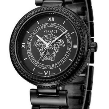 Versace Trendy Quartz Movement Watch For Men And Women F