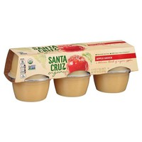 Santa Cruz Organic Apple Sauce - 4oz/6ct