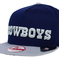 Dallas Cowboys NFL Flip Up Team Redux 9FIFTY Snapback Cap