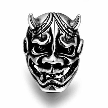 Men Ring Hot Sale Punk Face Mask [10783259779]
