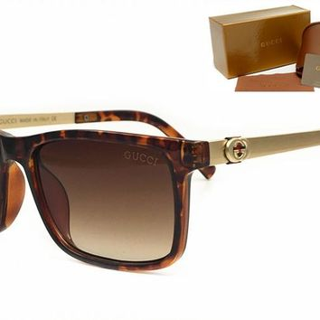 Gucci sunglass AA Classic Aviator Sunglasses, Polarized, 100% UV protection [2974244891]