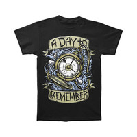 A Day To Remember Men's  Stop Watch T-shirt Black