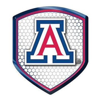 CUPUPI8 Arizona Wildcats Shield Reflector Emblem Decal Sticker Auto Home University of
