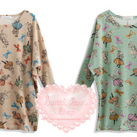 Sweet Alice and the Bunnies Sweater