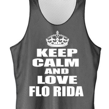 Keep calm and love FLORIDA mesh jersey