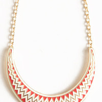Zig Zags Galore Necklace - $22.00 : ThreadSence.com, Free-spirited fashion for the indie-inspired lifestyle