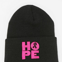 Urban Outfitters - Young Survival Coalition X UO Hope Beanie
