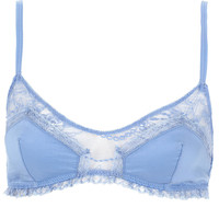 Cotton and Lace Soft Bra - New In This Week - New In - Topshop