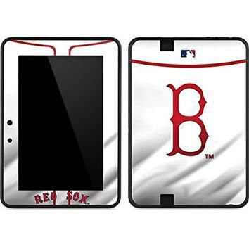 MLB Boston Red Sox Kindle Fire HD 7 Skin - Boston Red Sox Home Jersey Vinyl Decal Skin