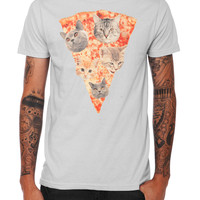 Pizza Cat Slice T-Shirt