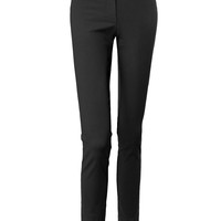 LE3NO Womens Fitted Dress Pants with Stretch
