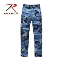 Rothco 7882 Men's Color Camo BDU Pant - Sky Blue Camo 7882 | Mens and Womens Workwear at G&L Clothing