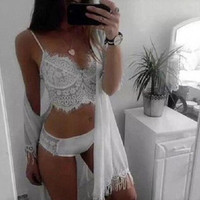 On Sale Coffee Cute Drinks Hot Deal Bra Set Lace Princess Cup [9342354180]