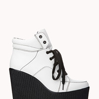 Bold Wedge Sneakers