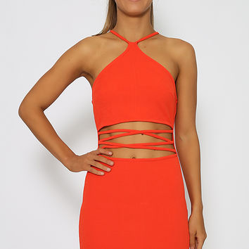 Remember Me Dress - Red