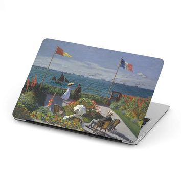Claude Monet [Garden at Sainte-Adresse] MacBook Case