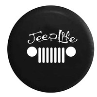 Jeep Life Salt Grill, Jeep, RV, Camper, Spare, Tire, Cover
