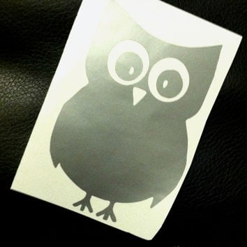 Owl car decal owl window decal owl decal owl decals owl car decals owl window decals