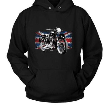 DCCK7H3 Matchless Motorcycle Hoodie Two Sided