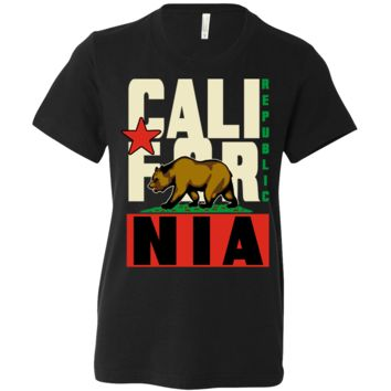 California Republic Original Retro Bold Asst Colors Youth T-Shirt/tee