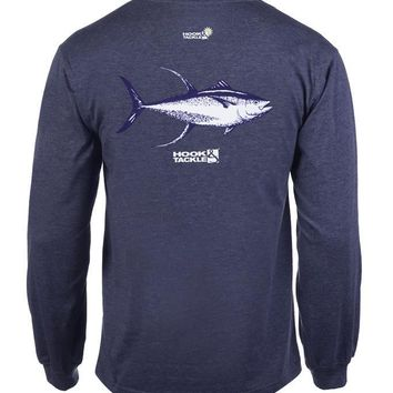 Men's Yellowfin L/S UV Fishing T-Shirt