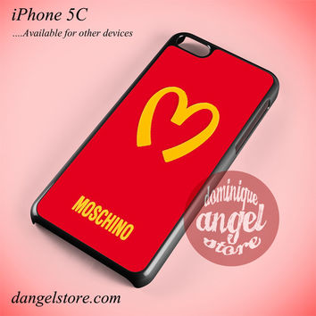 Moschino Logo Phone case for iPhone 5C and another iPhone devices