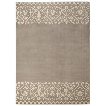 Threshold™ Scroll Border Area Rug - Gray