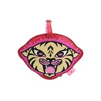Fluff Funky Cute Critters & Animal Carnival Jam Luggage Tag