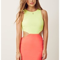 2TN CUT OUT DRESS