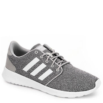 DARK GREY ADIDAS Womens Cloudfoam Qt Racer