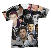 Shawn Mendes Photo Collage T-shirt