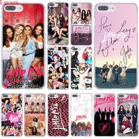 Lavaza Little Mix Hard Coque Shell Phone Case for Apple iPhone 8 7 6 6S Plus X 10 5 5S SE 5C 4 4S Cover