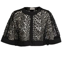 NINA RICCI | Floral Lace Cape | Browns fashion & designer clothes & clothing