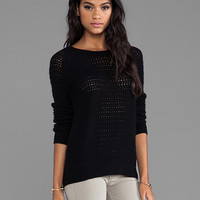 360 Sweater Laria Wool Cashmere Pullover in Black