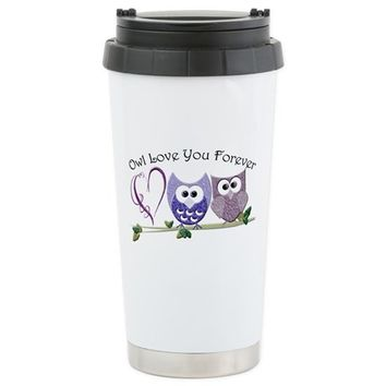 OWL LOVE YOU FOREVER TRAVEL MUG