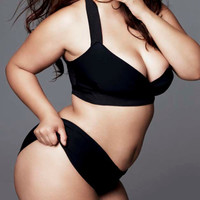 Plus size Bandage swimsuit/ bathing suit two piece, swimwear,  bathing suit