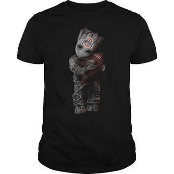 Groot hug Ohio state football club shirt Guys Tee