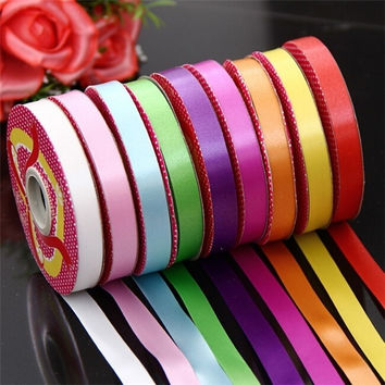 Wedding&Party Balloon Ribbon Holiday Birthday Party Home Decors Gift Wrapping Spool Tools (Color: Multicolor) = 1932522628