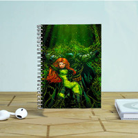 Batman And Poison Ivy Photo Notebook Auroid