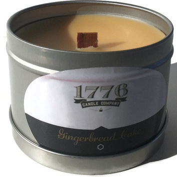 1776 Candle Company - Soy Scented Candle Gingerbread Cake