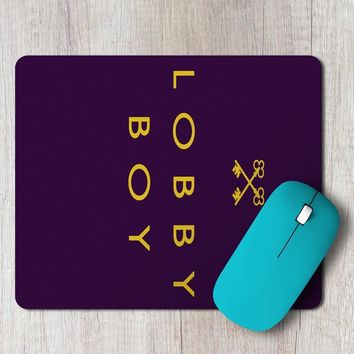 Rectangle Mouse Pad The Boy In The Lobby