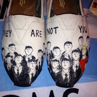 One Tree Hill Inspired Custom TOMS