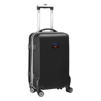 Southern Methodist Mustangs Luggage Carry-On  21in Hardcase Spinner 100% ABS