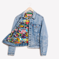 RWDZ x Star Wars Comics x Levis Lined Jacket