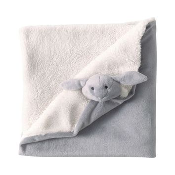 LAPIN child's blanket in grey 65 x 65cm | Maisons du Monde