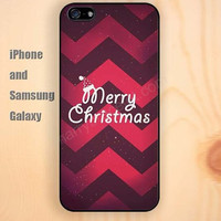 Chevron Merry Christmas colorful iphone 6 6 plus iPhone 5 5S 5C case Samsung S3, S4,S5 case, Ipod touch Silicone Rubber Case, Phone cover