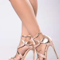 Theresa Heel - Rose Gold