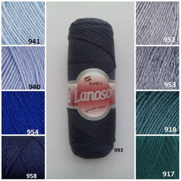 Bonito Lanoso, classic yarn, wool yarn, knitting yarn, winter yarn, sweater yarn, hand knitting yarn, crochet yarn, hat yarn, scarf yarn