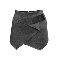 Wrapped in Love Skorts - Charcoal - Bottoms - Clothing